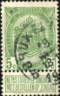 "COB   83 A  (o) Oblitération ""Bruxelles 5 "" T1L - 1893-1907 Armoiries"