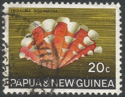 Papua New Guinea. 1968-69 Sea Shells. 20c Used. SG 145 - Papouasie-Nouvelle-Guinée