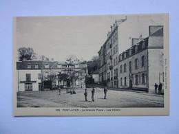 Pont-Aven, La Grande Place, Les Hôtels - Pont Aven