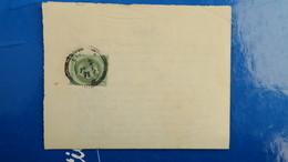 Napoleon Lauré 1 Ct Seul Sur Document Du Monastère De La Puye Vienne 30 Janvier 1871 - Postmark Collection (Covers)