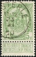 "COB   83 A  (o) Oblitération ""Casterlé"" T2R - 1893-1907 Armoiries"