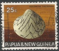 Papua New Guinea. 1968-69 Sea Shells. 25c Used. SG 146 - Papouasie-Nouvelle-Guinée