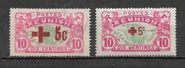 Timbre De Réunion  De 1915/16  N°81 Et 82 Neuf ** Et  Oblitéré - Réunion (1852-1975)