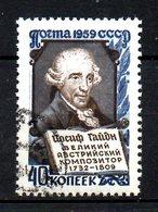 URSS. N°2173 Oblitéré De 1959. Compositeur Haydn. - Musique