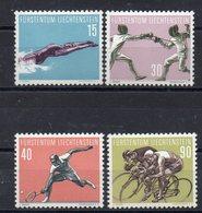 LIECHTENSTEIN   Timbres Neufs ** De 1958   ( Ref 5970 )  Sport - Liechtenstein