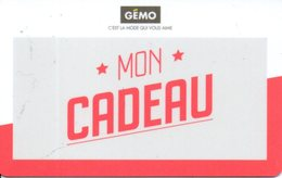 Carte Cadeau Gémo Privée 20€ Support Plastique - Cartes Cadeaux