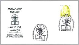 MOLINO DE VIENTO MALLORQUIN - Windmill. Lloseta, Baleares, 2005 - Molinos