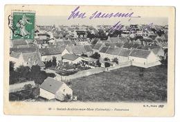 Cpa: 14 SAINT AUBIN SUR MER (ar. Caen) Panorama BF N° 49 - Saint Aubin