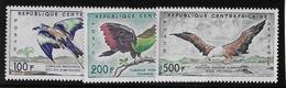 Centrafricaine Poste Aérienne N°1/3 - Oiseaux - Neuf ** Sans Charnière -  TB - Central African Republic