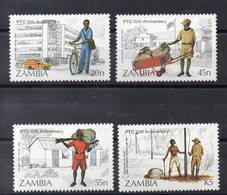 ZAMBIE   Timbres Neufs ** De 1985   ( Ref 5971 )  La Poste - Zambie (1965-...)