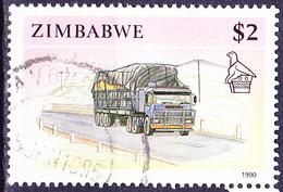 Simbabwe - Lastwagen (Mi.Nr.: 435) 1990 - Gest. Used Obl. - Zimbabwe (1980-...)