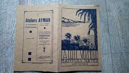 Brochure La Côte Vermeille Banyuls Sur Mer Offert Par Miramar 1929 Publicités Commerces - Languedoc-Roussillon