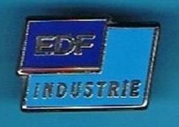 PIN'S //  ** EDF / INDUSTRIE ** . (A.M.C) - EDF GDF
