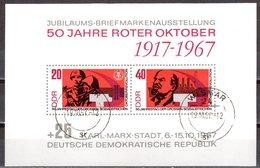 DDR 1967 Mi. 1315-1316 Block 26 Gestempelt (p1231) - DDR
