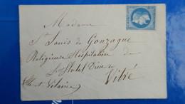 Napoleon N° 29 Neuf Sur Lettre Non Circulé Voir Photos - Marcophilie (Lettres)