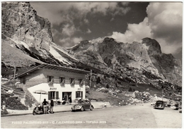 PASSO FALZAREGO - C. FALZAREGO - TOFANA - BELLUNO - 1963 - AUTOMOBILI - CARS - VOLKSWAGEN - Belluno