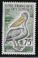 Cote Des Somalis N°303 - Oiseaux - Neuf ** Sans Charnière -  Pli De Gomme TB - Neufs