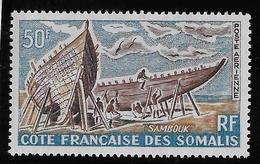 Cote Des Somalis Poste Aérienne N°38 - Oiseaux - Neuf ** Sans Charnière - TB - Neufs