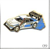 Pin's - Automobile - Peugeot / Rallye - Sponsors Shell & Pioneer. Est. Arthus Bertrand. Zamac. T418-09. - Rallye