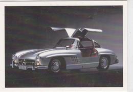 """MERCEDES BENZ 300SL 1956, Carte Publicitaire, """"Dream Cars"""", Edition Panini Canada 1991 - Altri"""