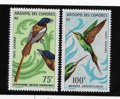 Comores Poste Aérienne N°20/21 - Oiseaux - Neuf ** Sans Charnière - TB - Comores (1950-1975)