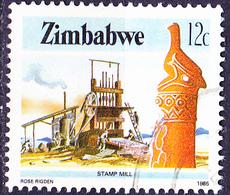 Simbabwe - Pochwerk (Mi.Nr.: 315) 1985 - Gest. Used Obl. - Zimbabwe (1980-...)