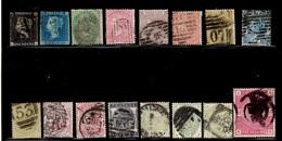 Grande-Bretagne Belle Collection De Bonnes Valeurs Classiques Oblitérés 1840/1884. Avec Penny Black. A Saisir! - Grande-Bretagne