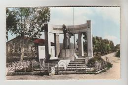 CPSM AZZABA EX. JEMMAPES (Algérie) - Le Monument Aux Morts - Other Cities