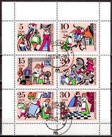 DDR 1967 MI. 1323-1328 Märchen KB Kleinbogen Gestempelt (p1232) - DDR