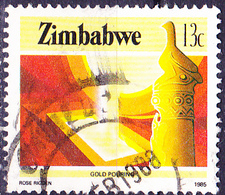 Simbabwe - Goldgewinnung (Mi.Nr.: 316) 1985 - Gest. Used Obl. - Zimbabwe (1980-...)