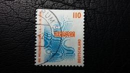 Bund MiNr. 2009 - Oben Geschnittenes Exemplar In Gestempelter Erhaltung - BRD