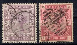 Grande-Bretagne YT N° 86/87 Oblitérés. B/TB. A Saisir! - 1840-1901 (Victoria)