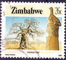 Simbabwe - Afrikanischer Affenbrotbaum (Adansonia Digitata) (Mi.Nr.: 323) 1985 - Gest. Used Obl. - Zimbabwe (1980-...)