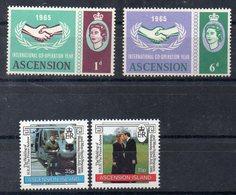Ile De L'ASCENSION   Timbres Neufs ** De 1965 Et 1986   ( Ref 5975 )  Coopération -  Famille Royale - Ascension (Ile De L')