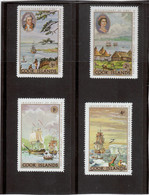 M12 - COOK ISLANDS - PO 182/185** MNH - Tahiti - Huaeiné - Kamtchatka - Antarctique - - Cook