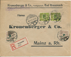 KREUZNACH - 16.11.23 , R-Brief Nach Mainz - Deutschland