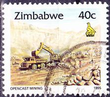 Simbabwe - Eisenerz-Tagebau, Redcliff (Mi.Nr.: 546) 1995 - Gest. Used Obl. - Zimbabwe (1980-...)
