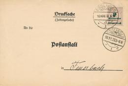ESSLINGEN - 16.NOV.23 , Zeizungsdrucksache Nach Feuerbach - Deutschland