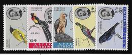 Ethiopie Poste Aérienne N°74/78 - Oiseaux - Neuf ** Sans Charnière - TB - Ethiopie