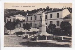 CPA 20 2A PIANA Le Monument Aux Morts - Autres Communes