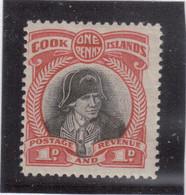 M12 - COOK ISLANDS - PO 32 ** De 1932 - PORTRAIT De JAMES COOK - - Cook