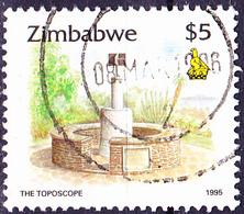 Simbabwe - Meßpunkt Auf Dem Berg Kopje (Mi.Nr.: 552) 1995 - Gest. Used Obl. - Zimbabwe (1980-...)