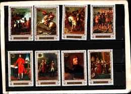 90400) RUANDA- 1968 QUADRI DI NAPOLEONE  -MNH**-SERIE COMPLETA N.325-29 - Rwanda