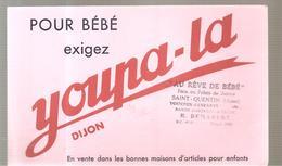 Buvard Youpa-la Bour Bébé Exigez Youpa-la Offert Par Au Rêve De Bébé à Saint Quentin - Textile & Clothing