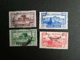 GRAND LIBAN  N°193/196 MH* / Obl COTE 21 Eu - Grand Liban (1924-1945)