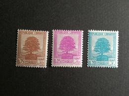GRAND LIBAN  N°167/169 MH*l  COTE 1.50 Eu - Grand Liban (1924-1945)