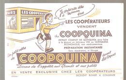 Buvard COOPQUINA Un Petite Verre De COOPQUINA Avant Les Repas - Liqueur & Bière