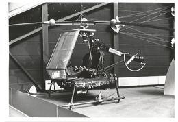 PHOTO HELICOPTER AVIOLANDA KOLIBRIE PH-NHI SCHIPHOL MUSEUM   12X8CM - Hélicoptères