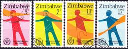 Simbabwe - Internationales Jahr Der Behinderten (Mi.Nr.: 251/4) 1981 - Gest. Used Obl. - Zimbabwe (1980-...)