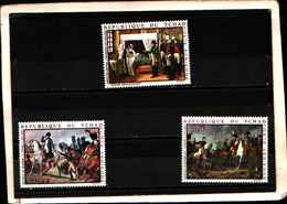 90402) TCHAD- 1969 QUADRI DI NAPOLEONE POSTA AEREA -MNH**-SERIE COMPLETA N.61-63 - Autres - Afrique